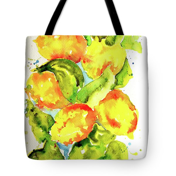 Rainwashed Lemons Tote Bag