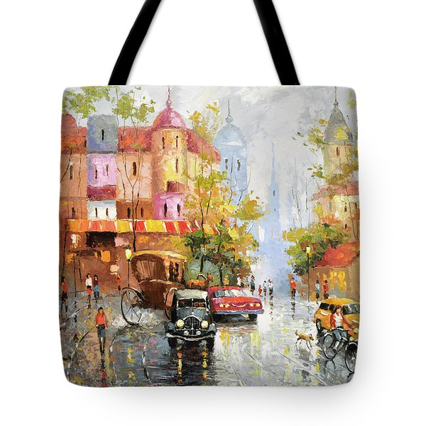 Rainy Day 3 Tote Bag