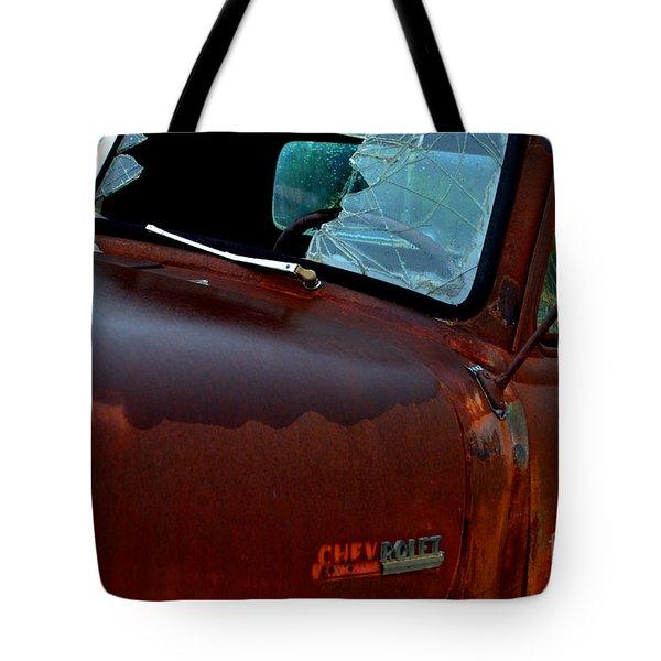 Rainy Day Chevrolet 4 Tote Bag