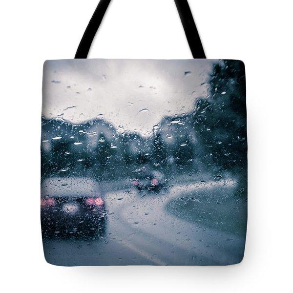 Rainy Day In June Tote Bag
