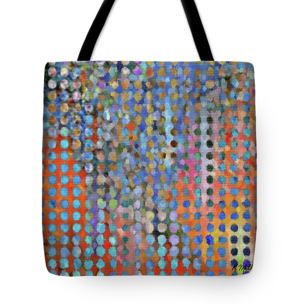Rainy Day In The Garden Tote Bag