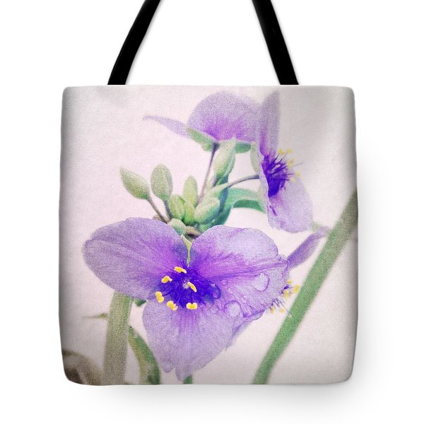 Rainy Day In The Garden Tote Bag by Tim Good
