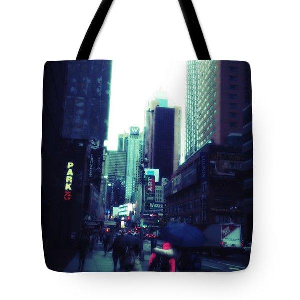 Rainy Day New York City Tote Bag