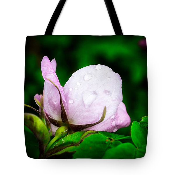 Rainy Day Rose Number 2 Tote Bag