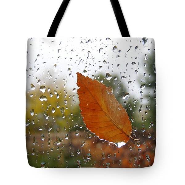 Rainy Day Visitor Tote Bag