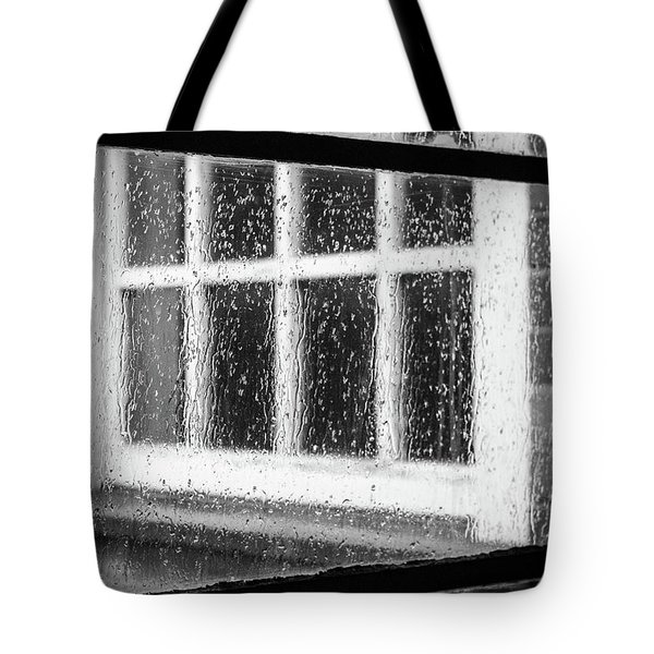 Rainy Day Window Tote Bag