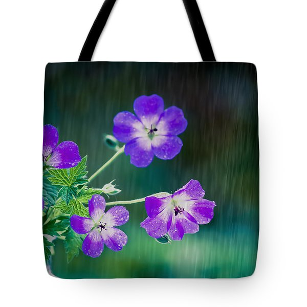 Tote Bag featuring the photograph Rainy Days And Mondays by Jan Bickerton