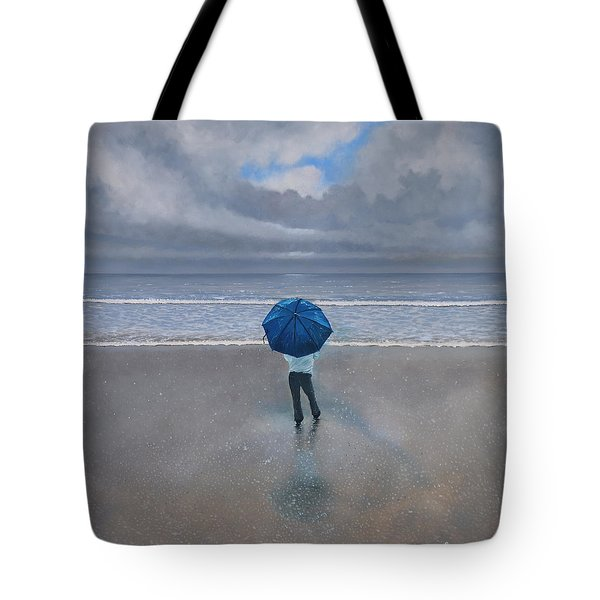 Rainy Days And Mondays Tote Bag by Paul Newcastle