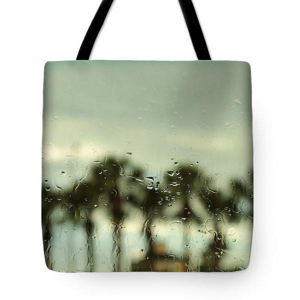 Rainy Daze Tote Bag by Christopher L Thomley