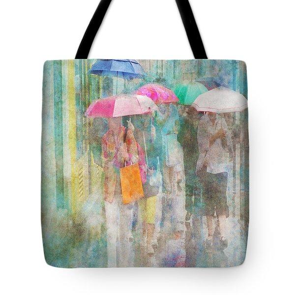 Rainy In Paris 2 Tote Bag
