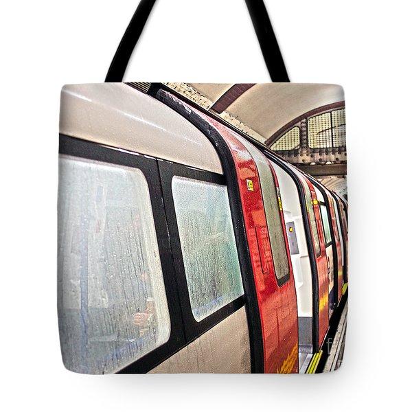 Rainy London Day Tote Bag