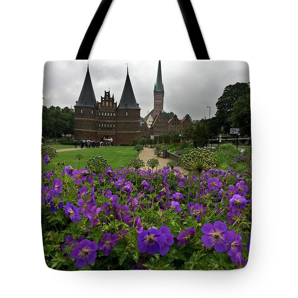 Rainy Luebeck Is Beautiful Tote Bag
