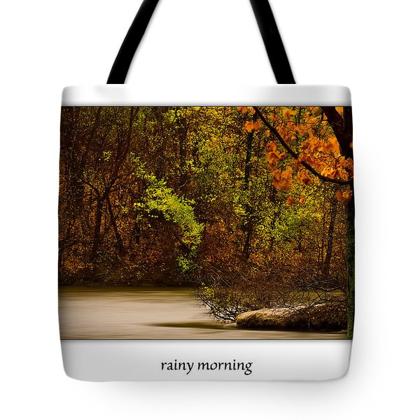 Rainy Morning Tote Bag