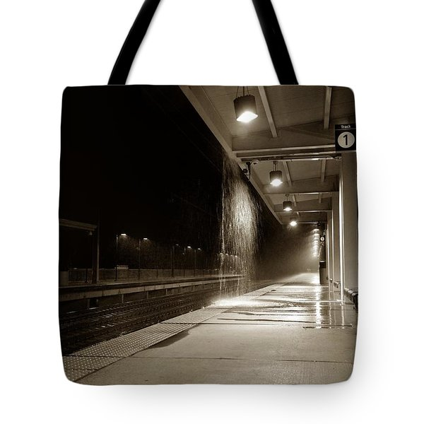 Rainy Night In Baltimore Tote Bag