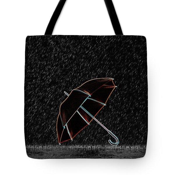 Rainy Night  Tote Bag