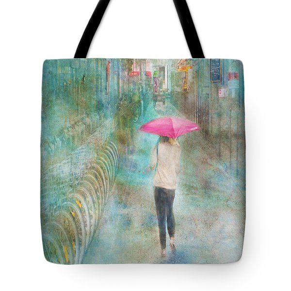 Rainy In Paris 3 Tote Bag