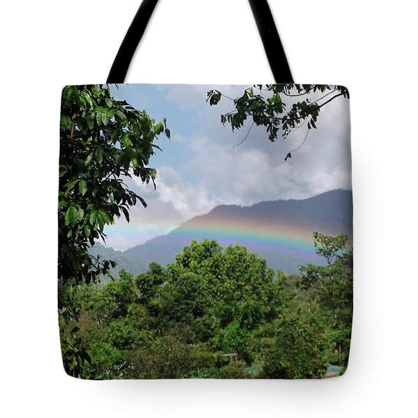 Rainy Season Back In The Rainforest Tote Bag