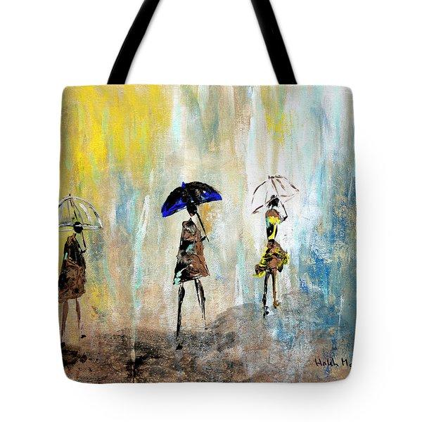 Rainydaywalk Tote Bag