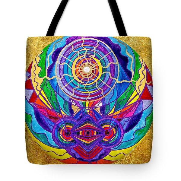 Raise Your Vibration Tote Bag