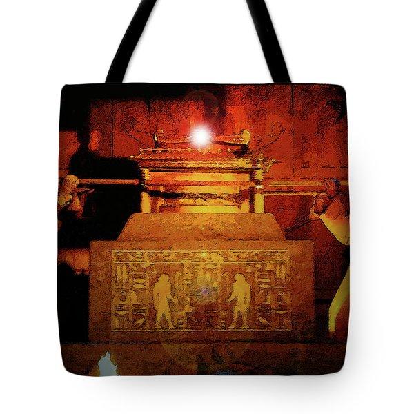 Raising The Ark Tote Bag by David Lee Thompson