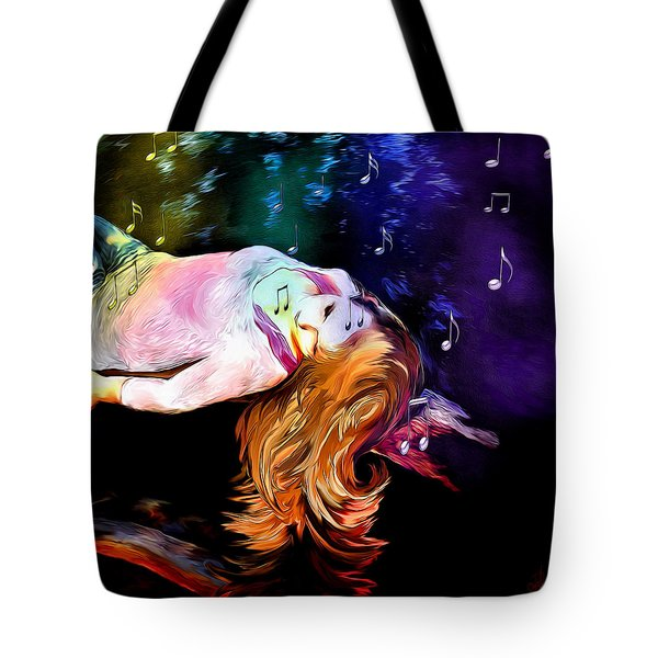 Raising Your Vibration Tote Bag