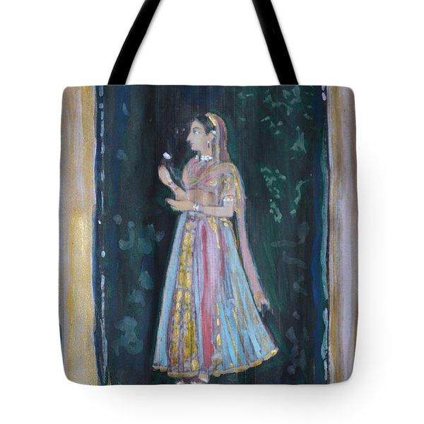 Raj Kumari Tote Bag by Vikram Singh