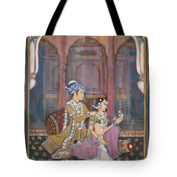 Rajasthani And Mogul Palace Tote Bag