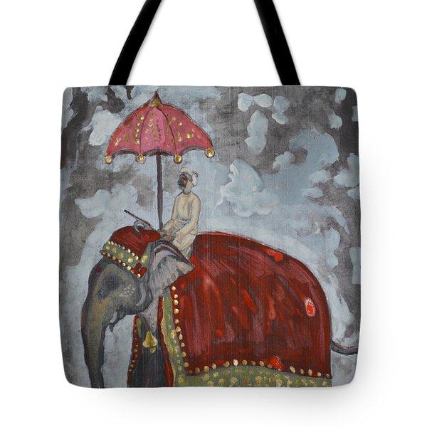 Rajasthani Elephant Tote Bag