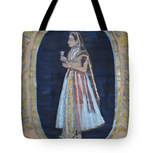 Rajasthani Queen Tote Bag