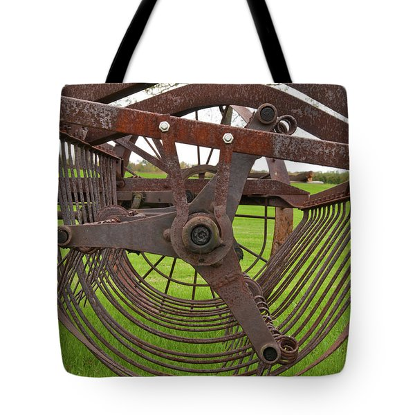 Tote Bag featuring the photograph Rake 3118 by Guy Whiteley