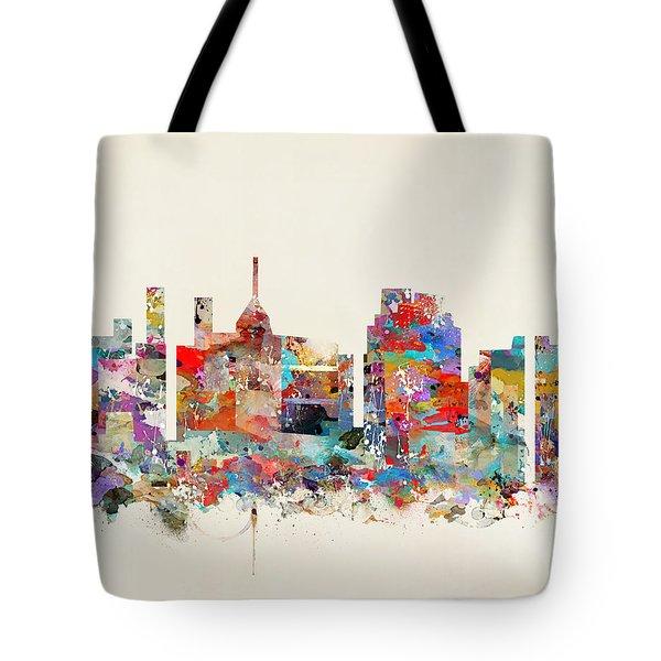 Raleigh North Carolina Tote Bag