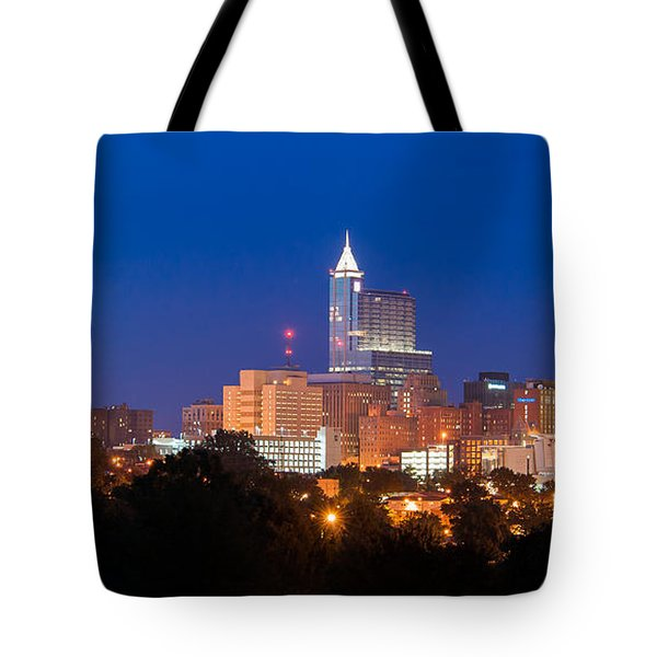 Raleigh Skyline Tote Bag