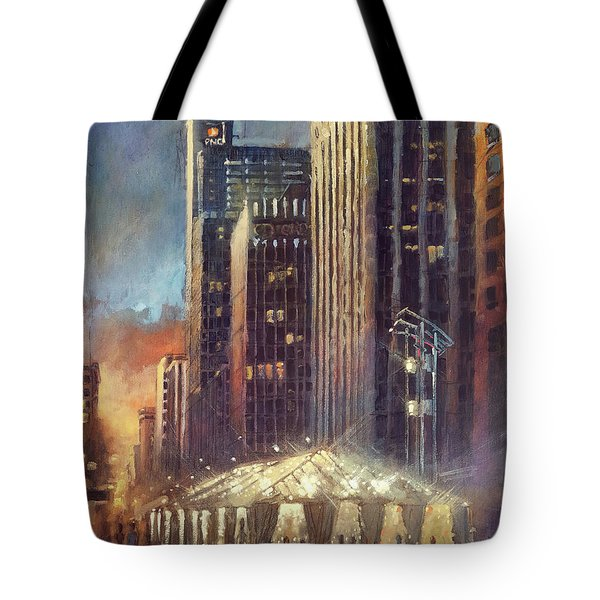 Raleigh With Symphony Tent Tote Bag