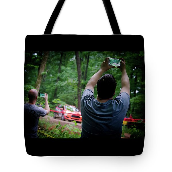 Rally Fan Capture Tote Bag