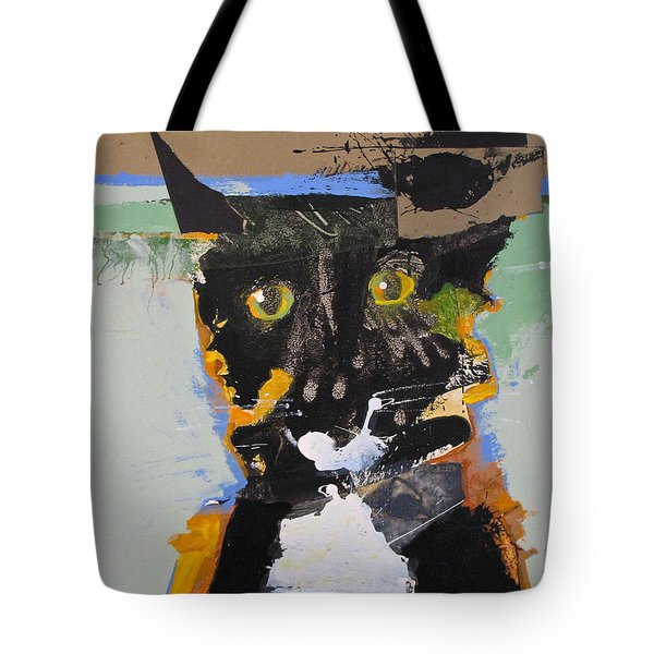 Ralph Abstracted Tote Bag by Cliff Spohn