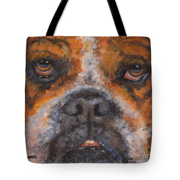 Ralph Tote Bag by Jana Baker