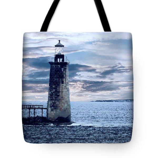 Ram Island Head Lighthouse.jpg Tote Bag