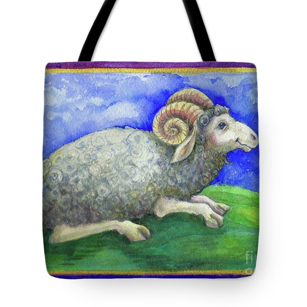 Ram Tote Bag