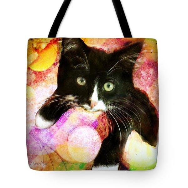 Rama The Miracle Cat Tote Bag