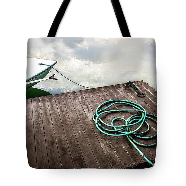 Ramble On - Boat Art Tote Bag