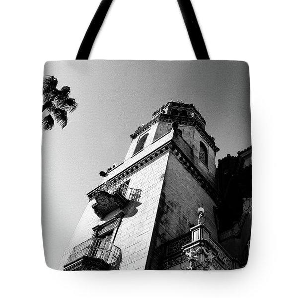 California Castle Tote Bag