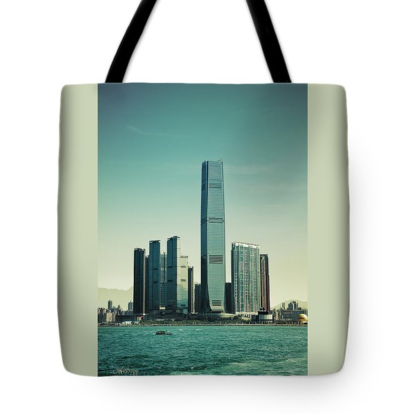 Ramparts Of Commerce Tote Bag by Joseph Westrupp