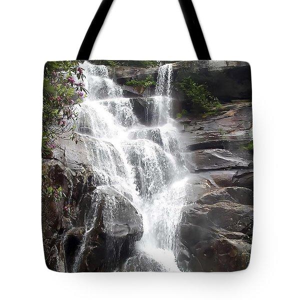 Ramsay Cascade Smoky Mountains National Park Tote Bag