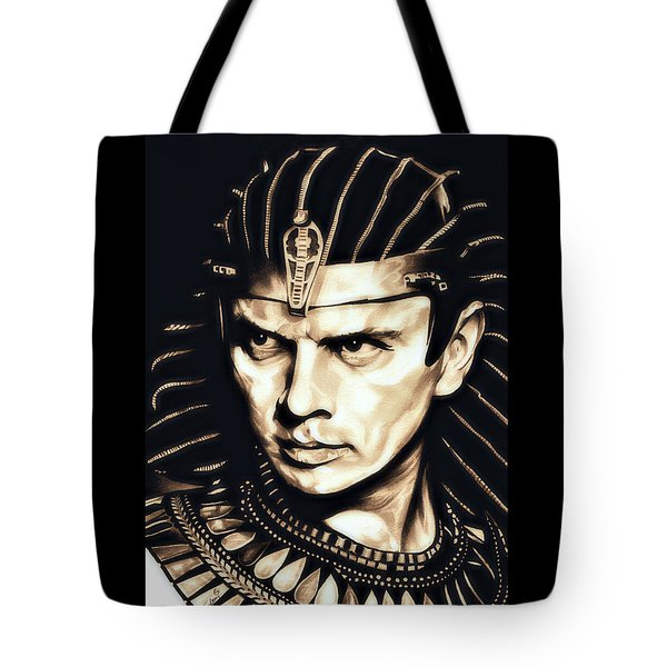 Ramses II Tote Bag by Fred Larucci