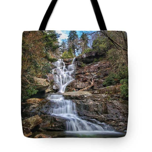 Ramsey Cascades - Tennessee Waterfall Tote Bag