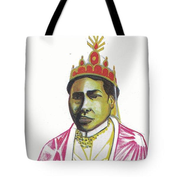 Ranavalona II Tote Bag by Emmanuel Baliyanga