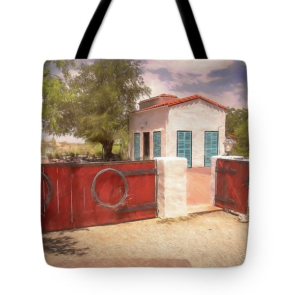 Ranch Family Homestead Tote Bag