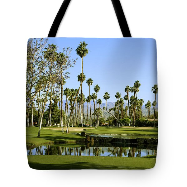 Rancho Mirage Golf Course Tote Bag