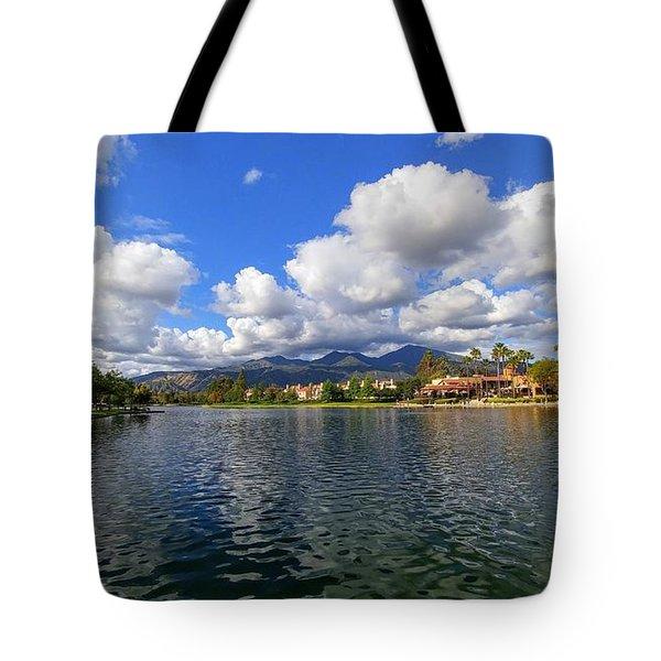 Rancho Santa Margarita Lake Tote Bag