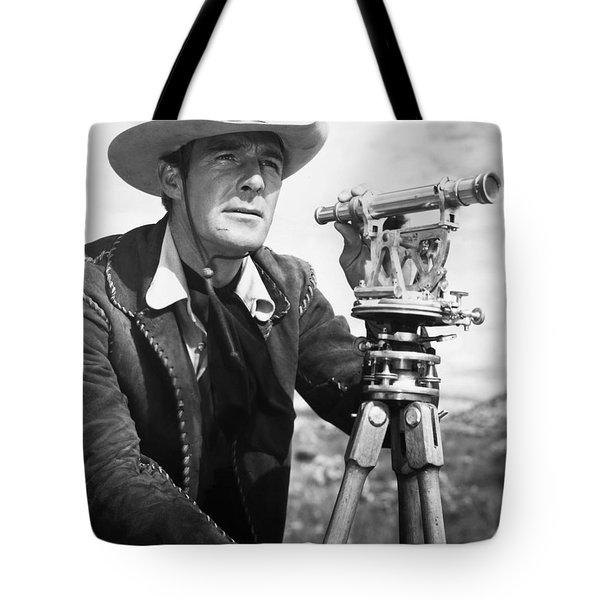 Randolph Scott (1898-1987) Tote Bag by Granger